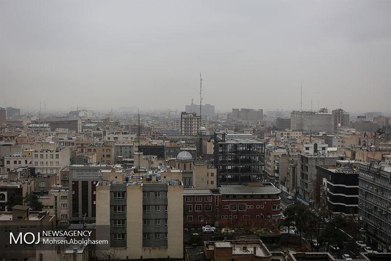 کیفیت هوای تهران در 10 دی 97 ناسالم است