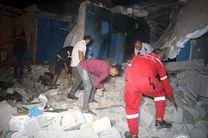 تخریب کامل 2 خانه بر اثر انفجار در بندرعباس