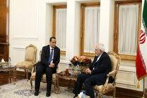 دیدار نماینده ویژه سازمان ملل در امور یمن با ظریف