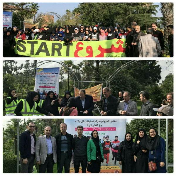 معرفی نفرات برتر رقابت های دوی صحرانوردی بانوان گیلان در لاهیجان