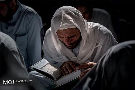 جزء خوانی قرآن کریم در حرمین شریفین کربلا