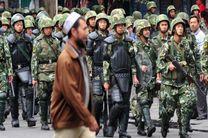 حضور معنی دار نیروهای امنیتی چین در استان سین کیانگ