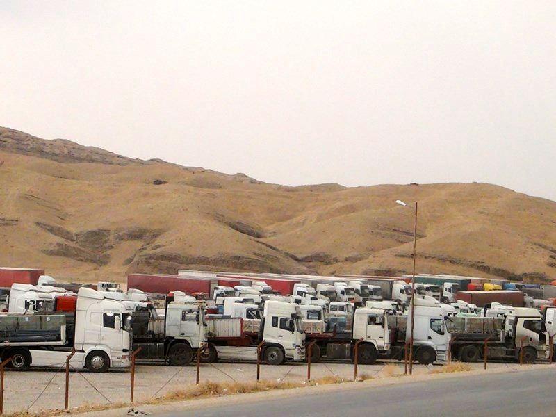 خروج 627 هزار تن کالا از مرز سومار طی سال جاری/48 درصد صادرات کرمانشاه از سومار بوده است