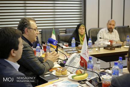 نشست خبری مدیر عامل سازمان تدارکات پزشکی هلال احمر