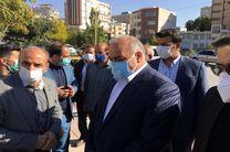 روند پیشرفت پروژه های شهری کرمانشاه بازدید شد