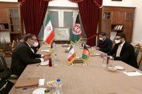 دیدار و گفتگو مشاور امنیت ملی رئیسجمهور افغانستان با شمخانی