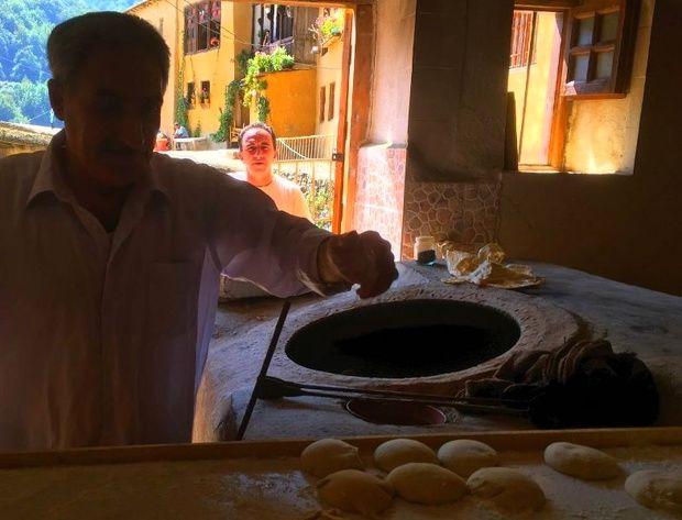 احیای نانوایی سنتی ماسوله