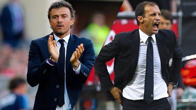 مثلث جابجایی در نیمکت تیمهای یوونتوس، بارسلونا و رم