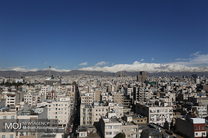 کیفیت هوای تهران در 10 اسفند 97 پاک است
