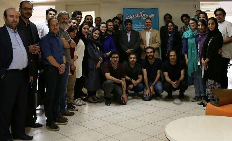 بازدید نماینده یونیسف در ایران از شتابدهنده کودکآنلاین