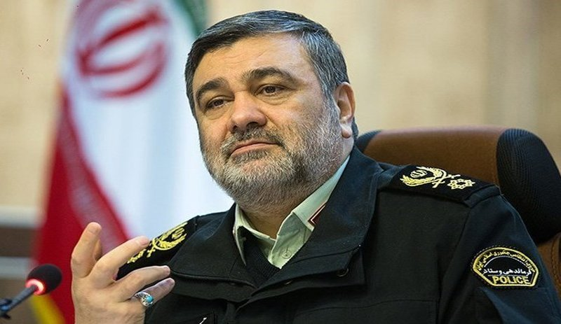 فرمانده ناجا در پی حادثه تروریستی اهواز پیامی برای دشمنان صادر کرد