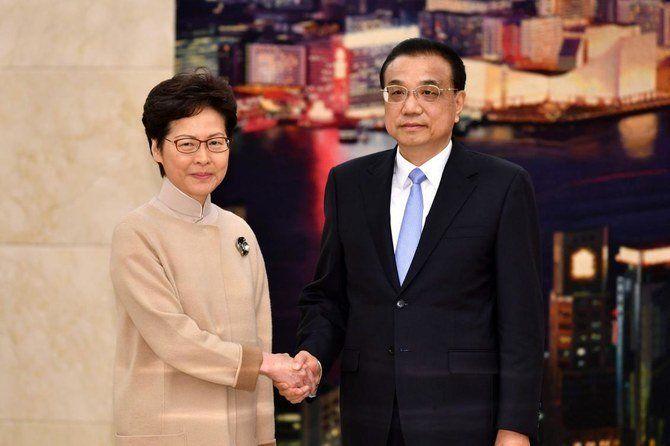 چین حمایت تزلزل ناپذیر خود از حاکم هنگ کنگ را اعلام کرد