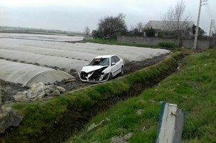 کشاورز بدشانس در اثر برخورد خودرو جان خود را از دست داد
