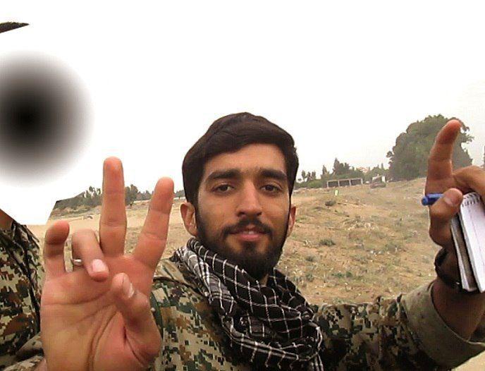 در مقابل شهید حججی هیچی نیستم