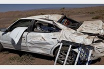یک کشته و 2 مجروح در اثر واژگونی سواری سمند در اصفهان