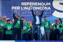برگزاری همه پرسی خودمختاری در ونتو و لمباردی ایتالیا