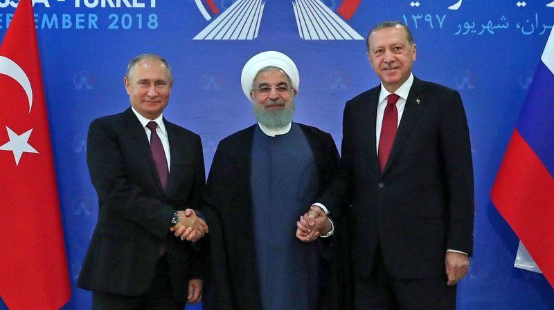 نظارت ایران، روسیه و ترکیه بر خروج نیروهای آمریکایی از سوریه