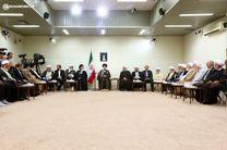 دیدار رئیس و اعضای مجمع تشخیص با رهبر انقلاب