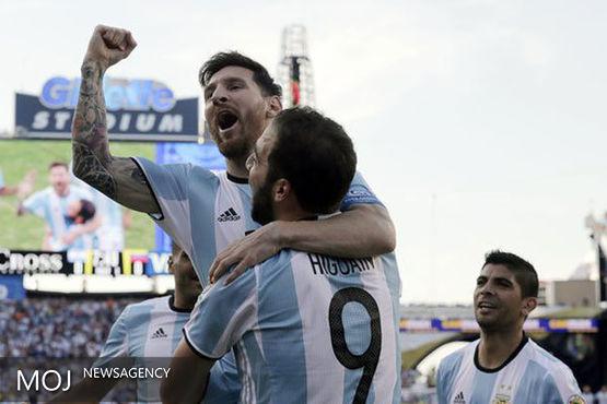 آرژانتین ونزوئلا را گل باران کرد