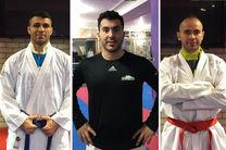 ۳ برنز ره آورد کاراته کاهای ایران از لیگ جهانی روتردام