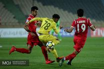 نتیجه بازی برگشت پرسپولیس و الوصل/ پرسپولیس، الوصل را سرخ کرد