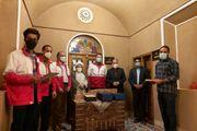 مراسم تجلیل از فعالان و تلاشگران حوزه امداد و نجات هلال احمر تفت