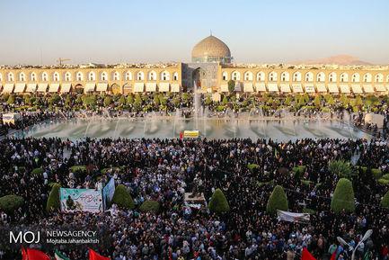 تشییع+پیکر+مطهر+شهدای+دفاع+مقدس+در+اصفهان