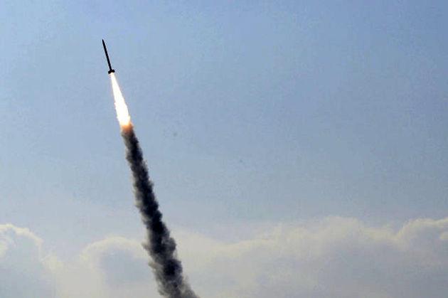 شلیک یک فروند موشک از نوار غزه به سمت اراضی اشغالی فلسطین