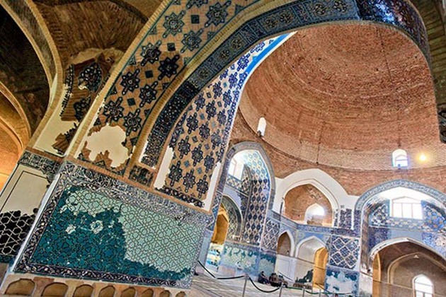 معماری مساجد می تواند گردشگر جذب کند