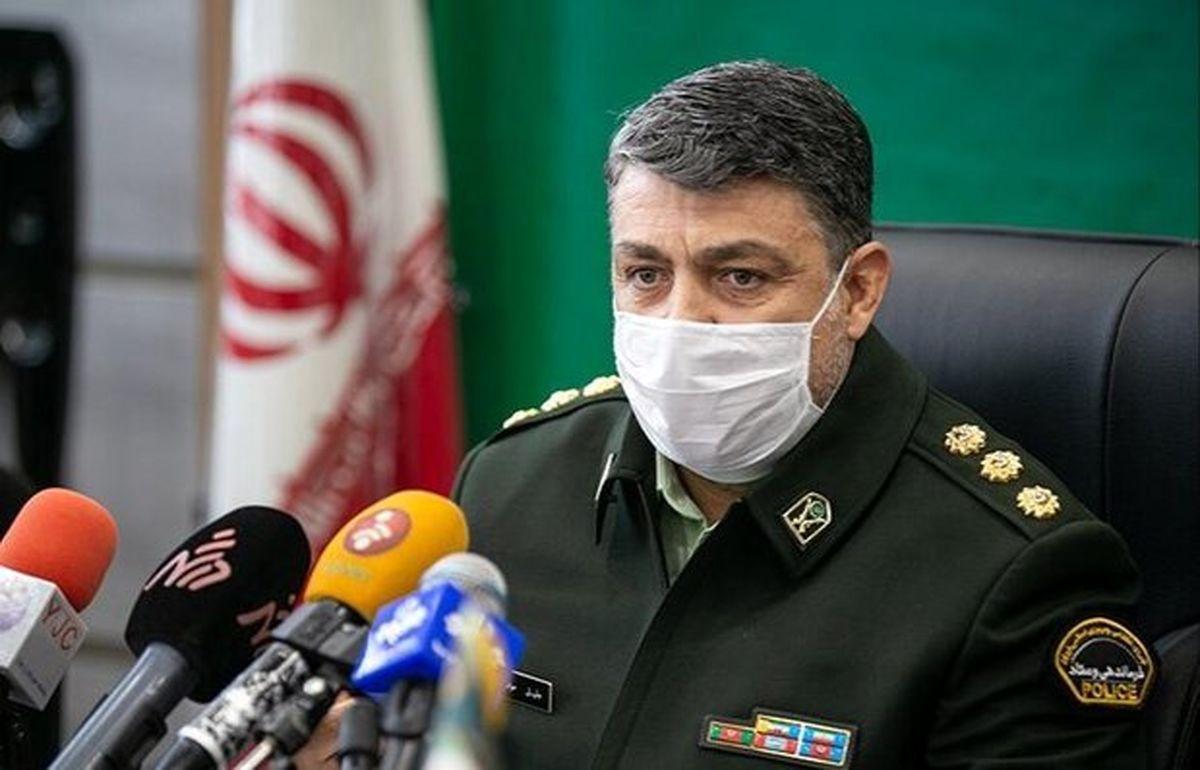 سرهنگ جلیل موقوفه ای رئیس پلیس پیشگیری تهران بزرگ شد