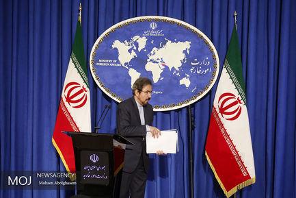 نشست+خبری+سخنگوی+وزارت+امورخارجه