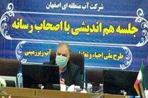 بهره برداری ازخط اضطراری سامانه دوم آبرسانی اصفهان در سال1400