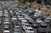 ترافیک  نیمه سنگین در محور کرج - چالوس