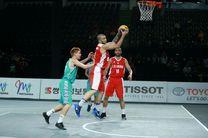 برتری تیم ملی بسکتبال سه نفره ایران برابر قزاقستان/ دومین برد برای بسکتبال سه نفره ایران