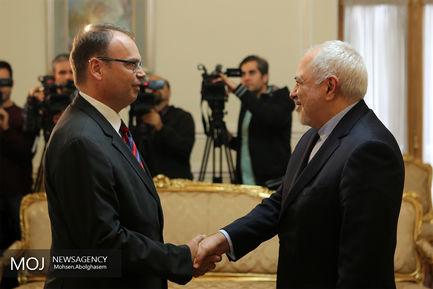 دیدار رییس جدید دفتر فائو در تهران با محمدجواد ظریف وزیر امور خارجه