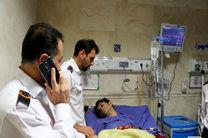 آتش سوزی علفزارها در خیابان فلسطین رشت یک آتش نشان مصدوم برجا گذاشت