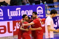 تیم فوتسال ایران مقابل عراق پیروز شد