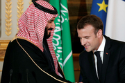 Bin Salman and Emmanuel Macron discussed middle east issues