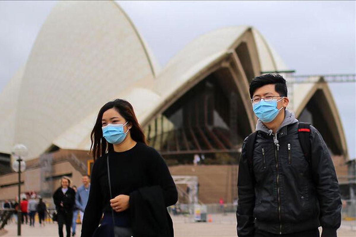 ویروس کرونای انگلیسی به استرالیا رسید