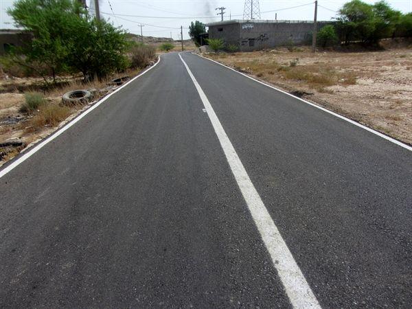 جاده دو روستای توسط شرکت نفت و گاز مسجدسلیمان بهسازی شد