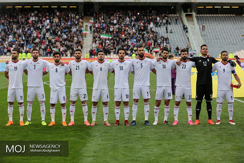 ترکیب تیم ملی ایران برای دیدار با الجزایر