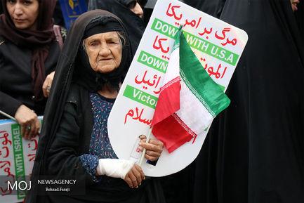 راهپیمایی+روز+۱۳+آبان+در+کرمانشاه