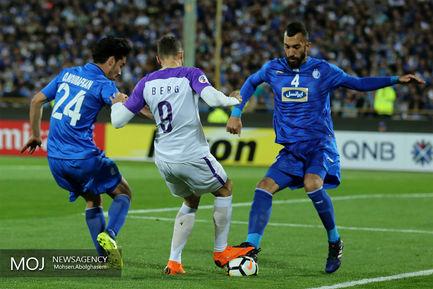 دیدار تیم های فوتبال استقلال ایران و العین امارات