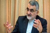 حضور علاءالدین بروجردی در ستاد انتخابات کشور