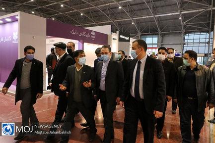بازدید وزیر اقتصاد ارمنستان از نمایشگاه بین المللی اصفهان