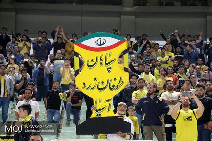 دیدار تیم های فوتبال سپاهان اصفهان و استقلال خوزستان
