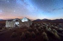 پدیده انعکاس آسمان شب روی بزرگترین نمکزار جهان + تصاویر