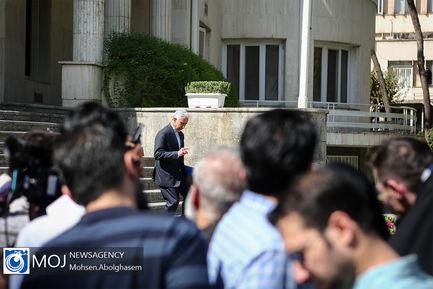 حاشیه جلسه هیات دولت - ۲۷ شهریور ۱۳۹۸
