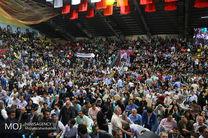 جشن پیروزی هواداران حسن روحانی در اصفهان