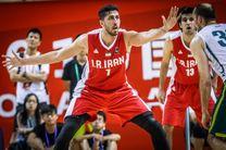 بسکتبالیستهای ایران برابر لتونی متوقف شدند